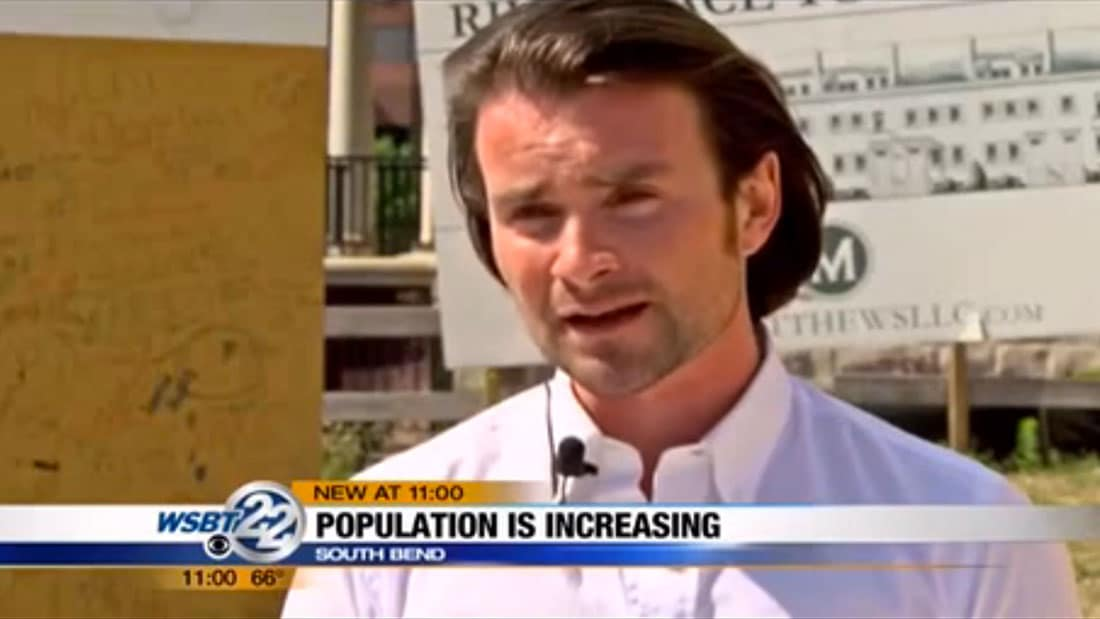 David Matthews interviewed about population increase